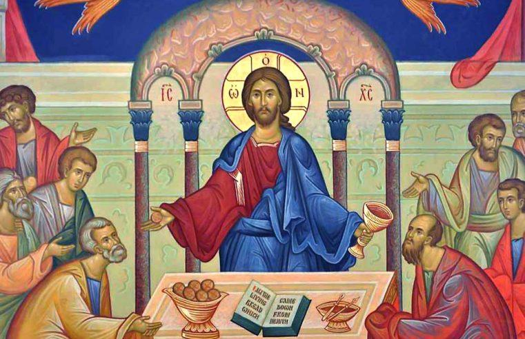 Sfânta Euharistie – Taina unirii noastre cu Dumnezeu