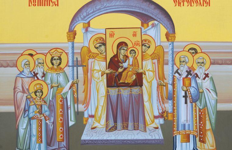 Prima Duminică din Postul Mare – a Ortodoxiei – 25 februarie 2018