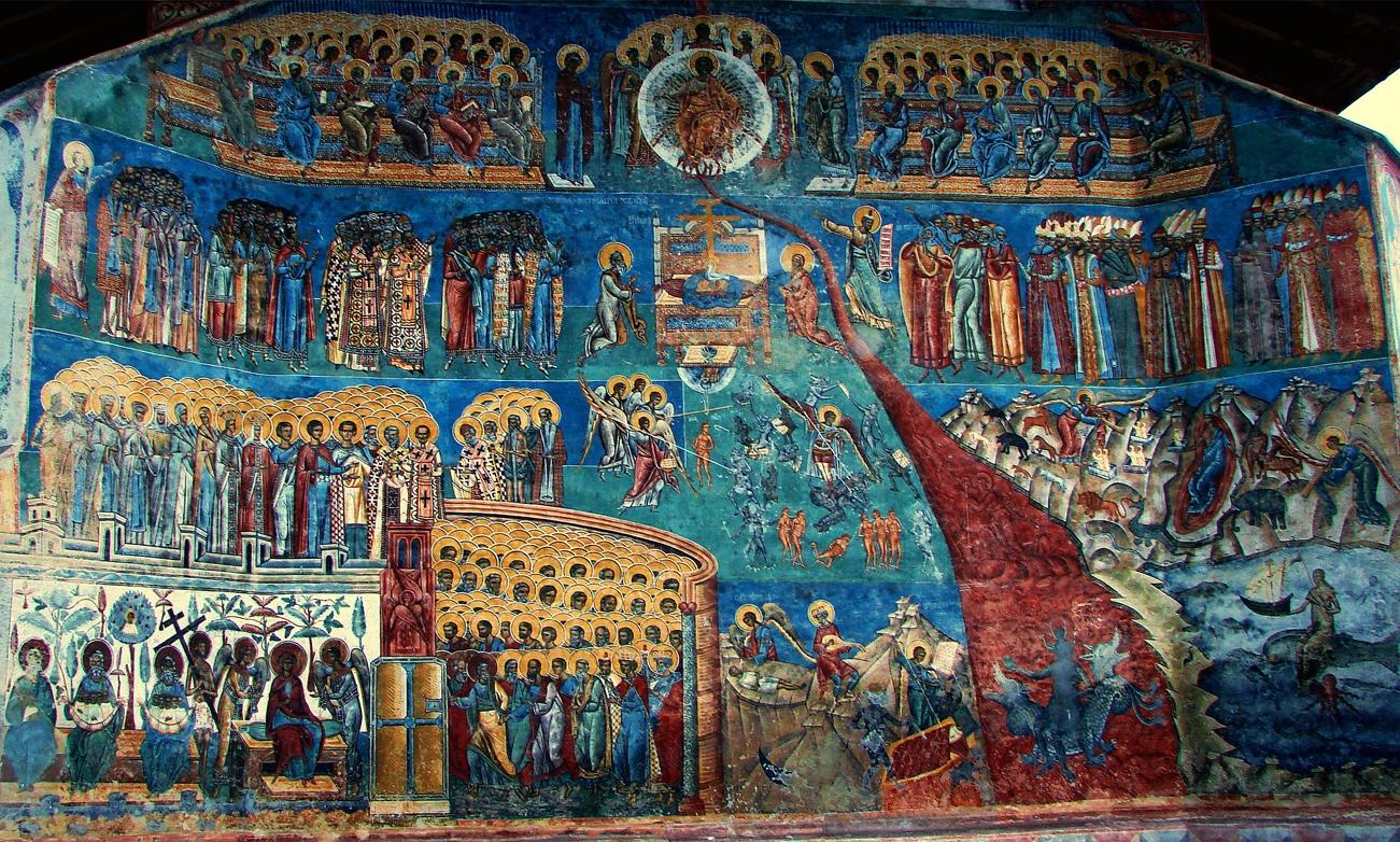 Duminica Înfricoșătoarei Judecăți – Pomenirea celor adormiți (Moșii de iarnă) – 23 februarie 2020   Sala Don Bassani – Dumnezeiasca Liturghie (orele 9.30)