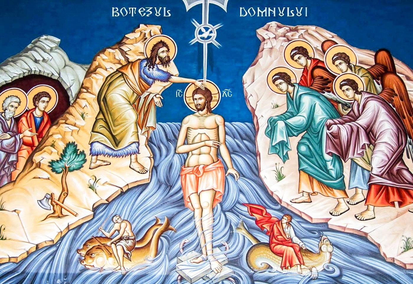 Botezul Domnului (Boboteaza) – 6 ianuarie 2019   Sfânta Liturghie și Sfințirea cea Mare a apei – Sala Don Bassani