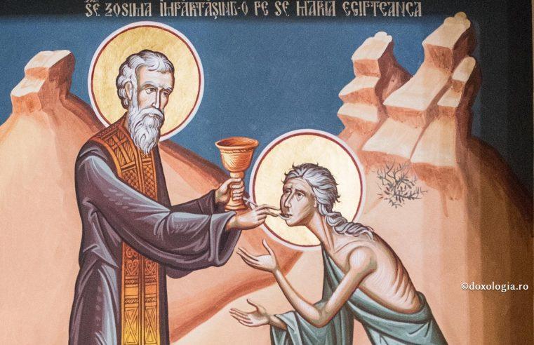 """Duminica a cincea din Postul Mare: Sfânta Maria Egipteanca ne arată cum să devenim cetăţeni """"cu acte în regulă"""" ai Ierusalimului ceresc"""