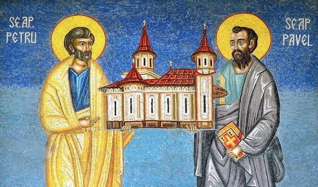 Dumnezeiasca Liturghie – sâmbătă, 29 iunie 2019 (Sf. Apostoli Petru și Pavel) | Biserica San Michele din Monte Compatri – orele 9.30