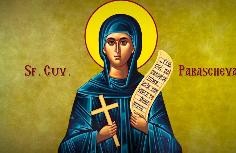 Acatistul Cuvioasei Parascheva de la Iași – 21 iunie 2019 | Biserica San Michele din Monte Compatri – orele 19.00