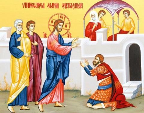 Duminica a 4-a după Rusalii (Vindecarea slugii sutașului) – 14 iulie 2019 | Dumnezeiasca Liturghie – orele 9.00 (Sala Don Bassani – Monte Compatri)
