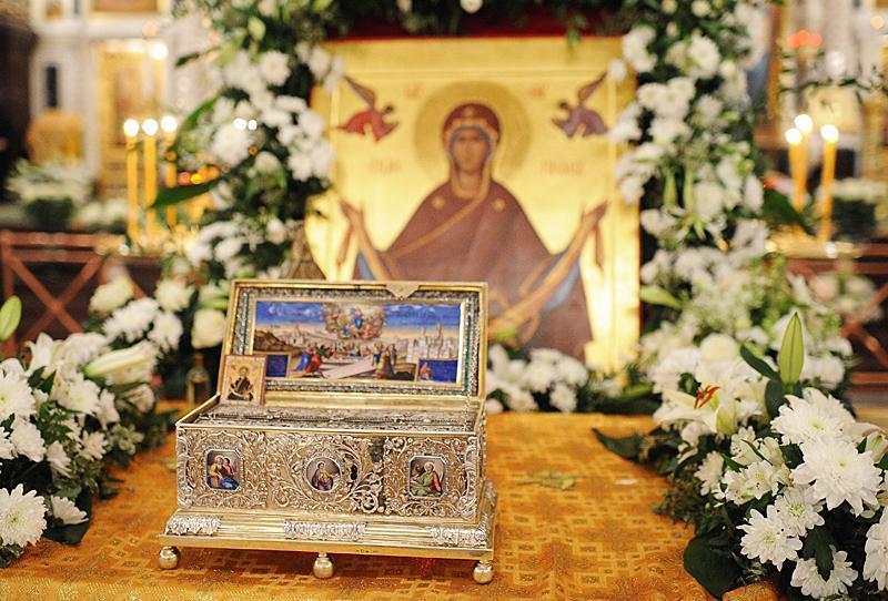 Istoria Sfântului Brâu al Maicii Domnului