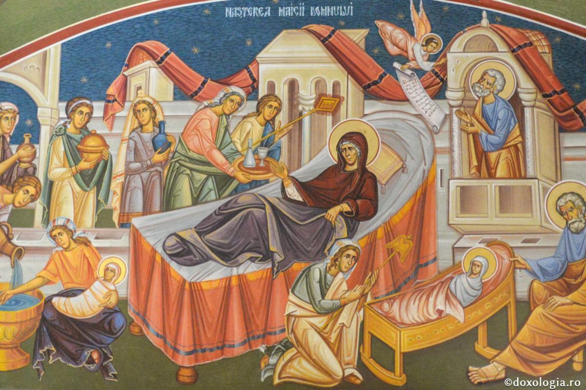 Nașterea Maicii Domnului – Duminică, 8 septembrie 2019 | Dumnezeiasca Liturghie – orele 9.30 (Sala Don Bassani)