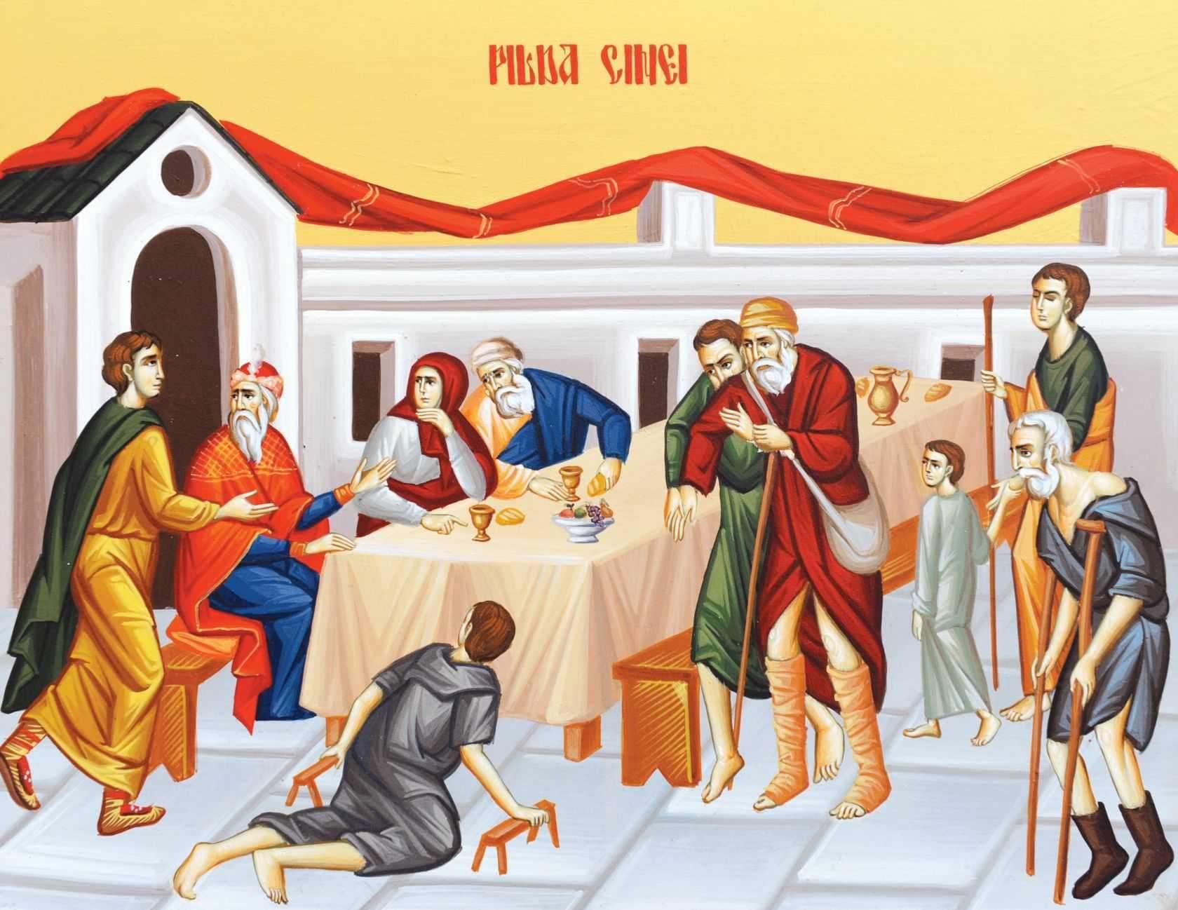 Duminica a 28-a după Rusalii – 15 decembrie 2019 | Dumnezeiasca Liturghie – orele 9.30 (Sala Don Bassani din Monte Compatri)