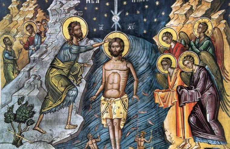 Praznicul Botezului Domnului – 6 ianuarie 2020 | Dumnezeiasca Liturghie (orele 9.30) și Sfințirea cea Mare a apei – Sala Don Bassani din Monte Compatri